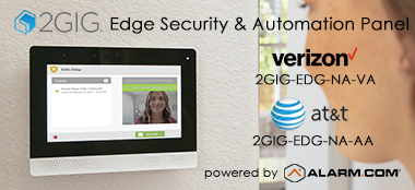2Gig Edge Security & Home Automation Control Panel