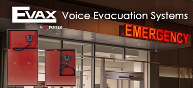 Evax by Potter Voice Evacuation Systems