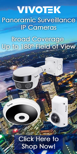 Vivotek Panoramic Surveillance IP Cameras